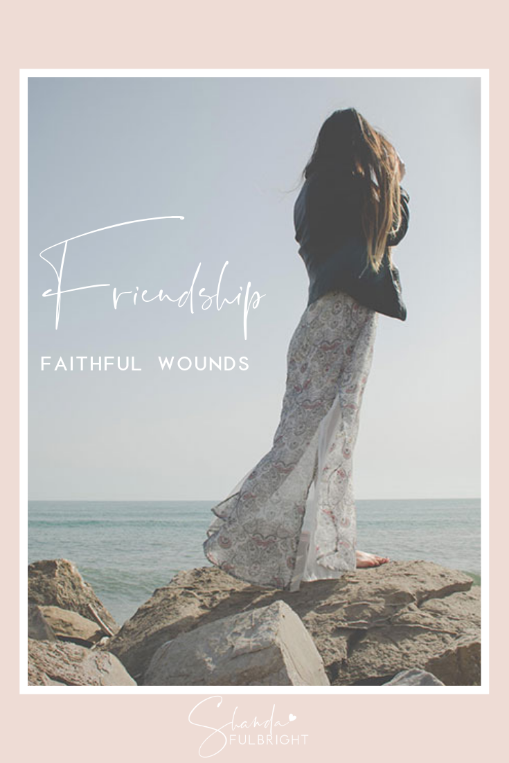 friendship faithful wounds shanda fulbright - Friendship: Faithful Wounds