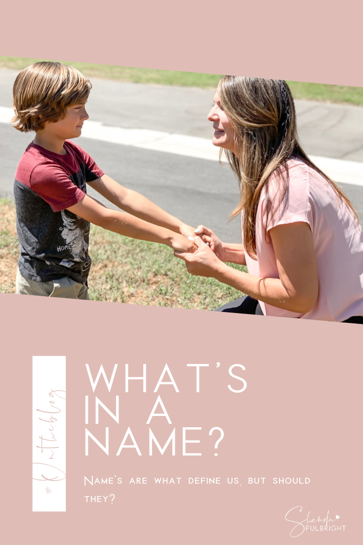 whats in a name shanda fulbright - What's In A Name?
