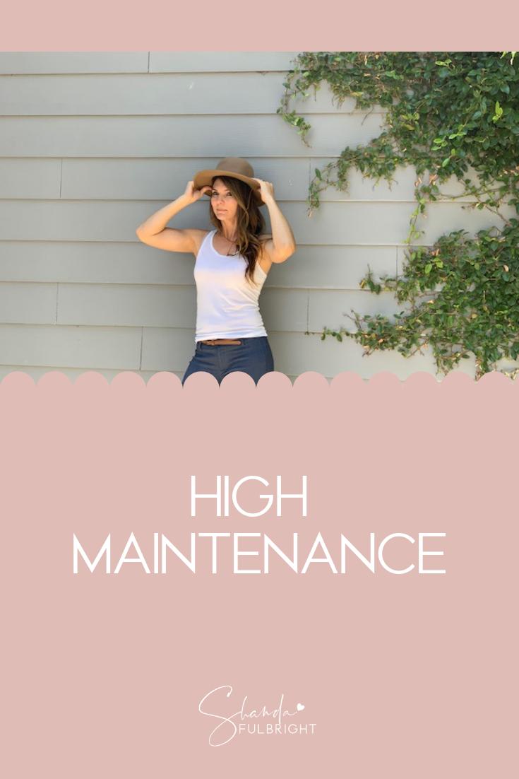 high maintenance shanda fulbright - High Maintenance