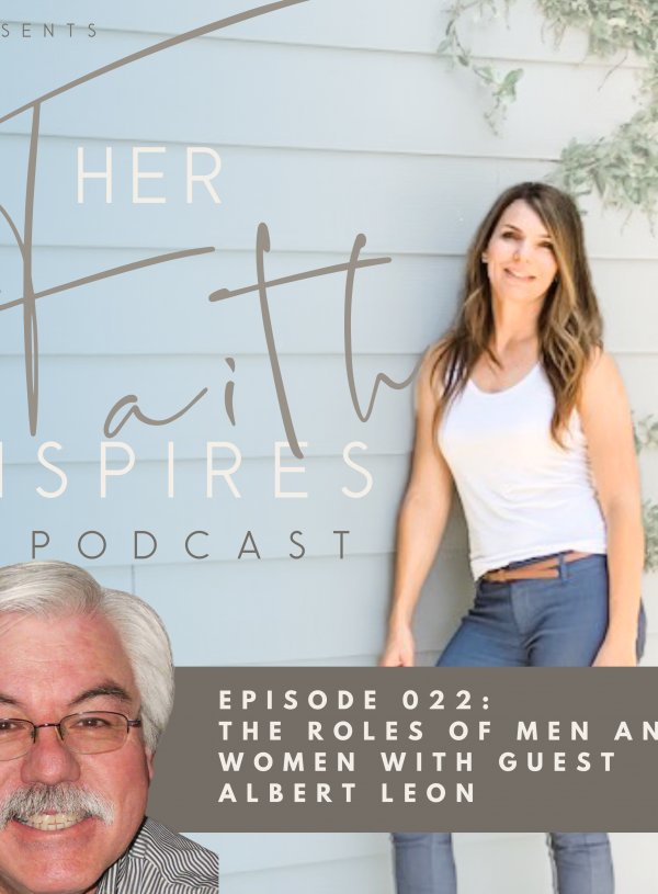 HER FAITH INSPIRES 022 : The roles of men and women with guest Albert Leon