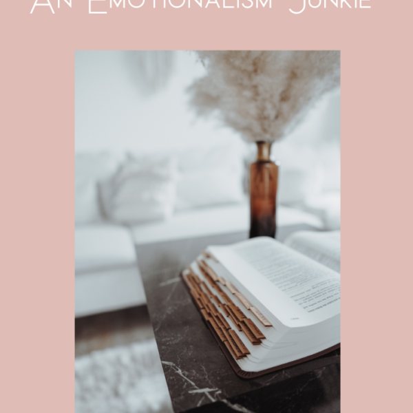 3 Indicators You May Be An Emotionalism Junkie